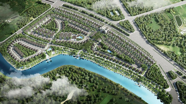 Bốn vòng bảo vệ tại khu đô thị Zeigeist của chủ đầu tư Hàn Quốc - Ảnh 2.