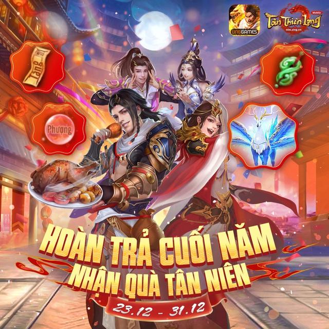 Tân Thiên Long Mobile - VNG chính thức ra mắt phiên bản mới - Đào Hoa Ảnh Lạc - Ảnh 5.