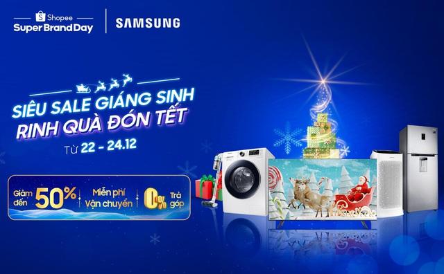 """Samsung giảm sốc đến 50% , """"chốt đơn"""" ngay để trang hoàng nhà cửa đón Giáng sinh thôi! - Ảnh 1."""