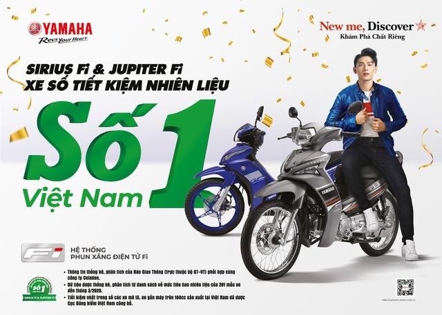 """Sirius Fi - xe máy số """"siêu"""" tiết kiệm nhiên liệu hàng đầu Việt Nam - Ảnh 2."""