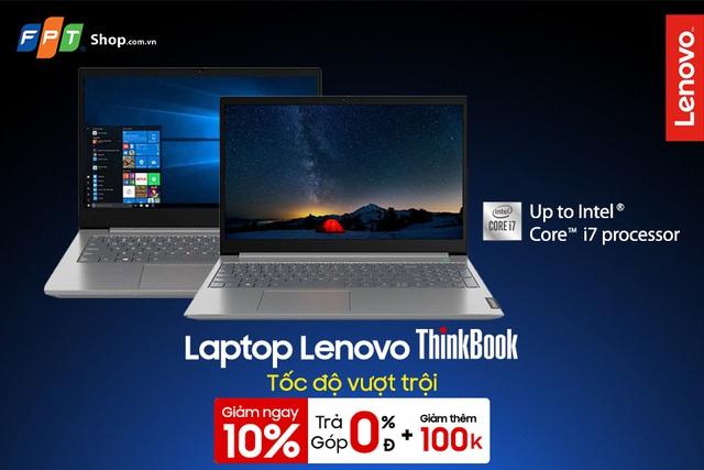 Lenovo ThinkBook giảm sốc 10%, cuối năm sắm laptop - Ảnh 2.