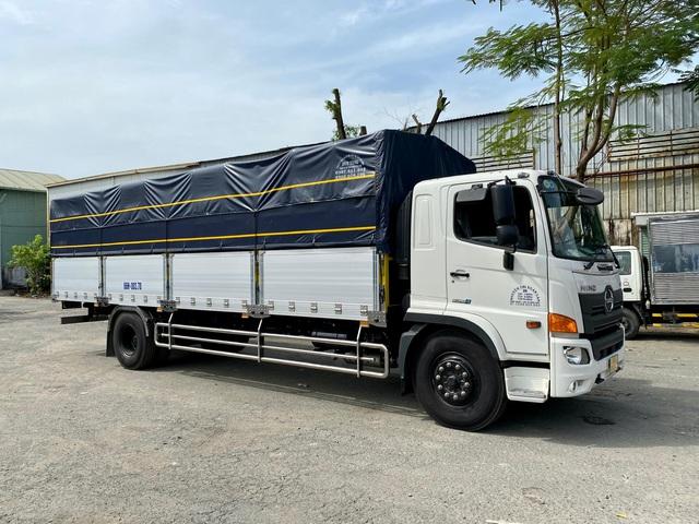 Mua xe tải Hino FG - Hỗ trợ vay ngân hàng 70%-80% giá trị xe lãi suất thấp - Ảnh 1.