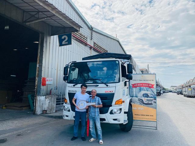 Mua xe tải Hino FG - Hỗ trợ vay ngân hàng 70%-80% giá trị xe lãi suất thấp - Ảnh 5.