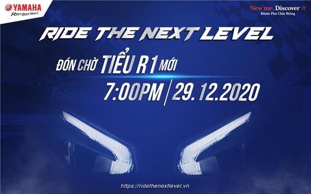"""""""Tiểu R1"""" sắp ra mắt, bạn đã sẵn sàng chiêm ngưỡng siêu phẩm mới của Yamaha Motor Việt Nam chưa? - Ảnh 1."""