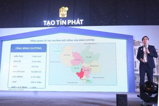 Công ty Tạo Tín Phát ra quân và ký kết hợp tác dự án Phước Điền Citizen - Ảnh 2.