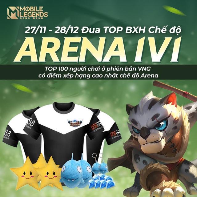 Mobile Legends: Bang Bang VNG – Bạn đã sẵn sàng để đứng TOP BXH 1v1 Arena chưa? - Ảnh 1.