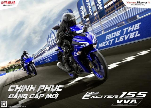 Yamaha Exciter 155 VVA - Côn tay thể thao cỡ nhỏ lấy cảm hứng từ YZF-R1 - Ảnh 1.