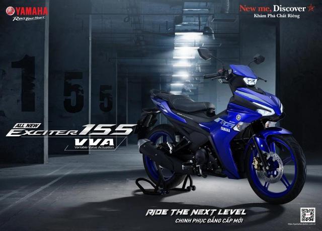 Yamaha Exciter 155 VVA - Côn tay thể thao cỡ nhỏ lấy cảm hứng từ YZF-R1 - Ảnh 2.