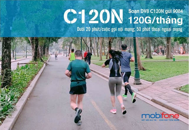 C120N: Bạn đồng hành của ứng dụng chạy bộ - Ảnh 1.