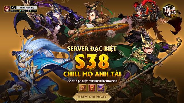 09:00 ngày 5/12 - Thiếu Niên 3Q mở server đặc biệt sau 01 tháng ra mắt chính thức - Ảnh 1.