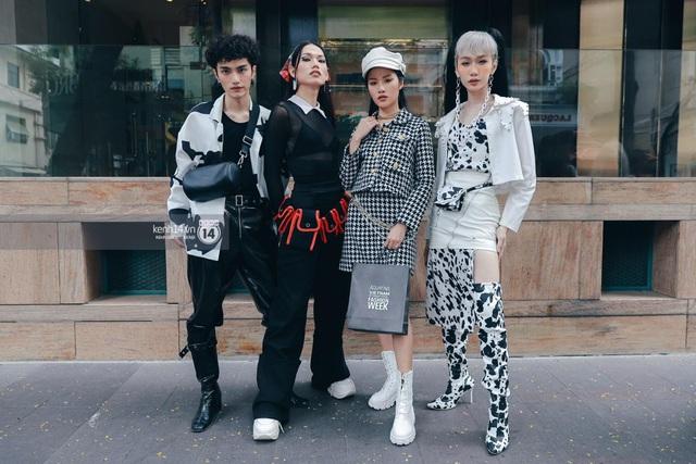 Street style của người Việt trẻ tại Aquafina Tuần lễ Thời trang: Thế hiện chất riêng, không ngại phá cách, còn có cơ hội rinh Airpods Pro thì tội gì không thử? - ảnh 2