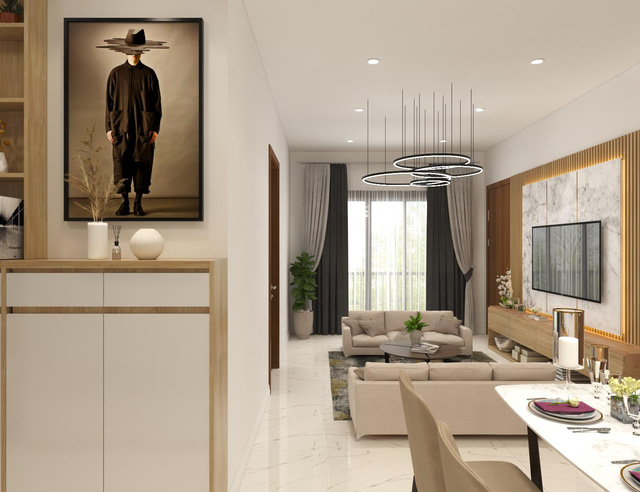 VietStar Holdings lấn sân đầu tư xây dựng 300 căn hộ phong cách Singapore tại Thuận An. - Ảnh 1.