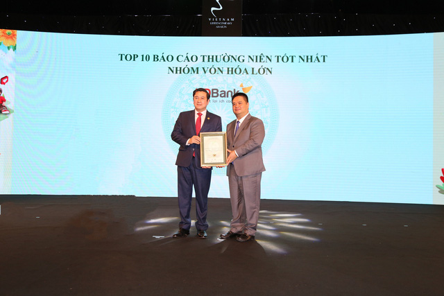 HDBank tiếp tục được vinh danh trong các doanh nghiệp có BCTN xuất sắc trên sàn chứng khoán - Ảnh 1.