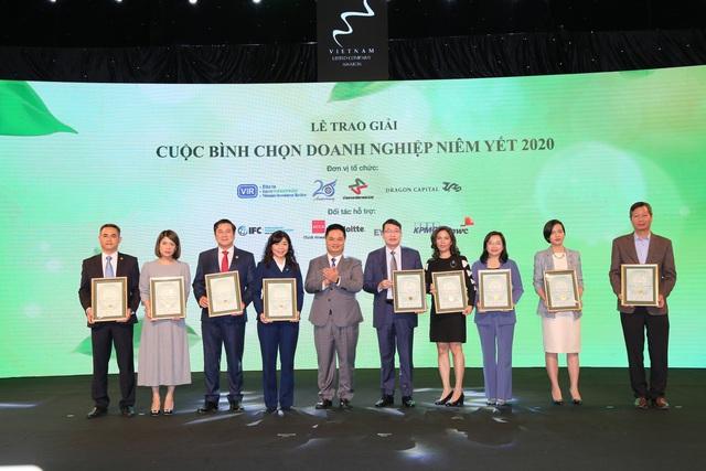 HDBank tiếp tục được vinh danh trong các doanh nghiệp có BCTN xuất sắc trên sàn chứng khoán - Ảnh 2.