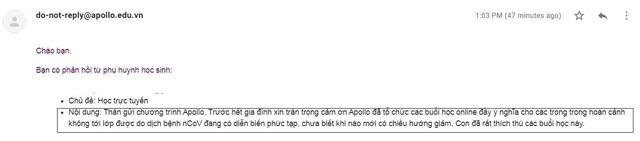 Học tiếng Anh thời Corona: Apollo English thần tốc nhân rộng nền tảng trực tuyến Apollo e-Interact chỉ sau 3 ngày - Ảnh 1.