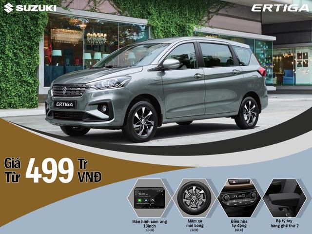 Suzuki Ertiga 2020 ra mắt Việt Nam, giá từ 499 triệu đồng - Ảnh 1.