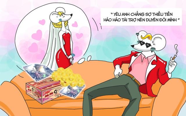 """Điên đảo """"quăng thính"""" cùng Hảo Hảo mùa Valentine - Ảnh 1."""