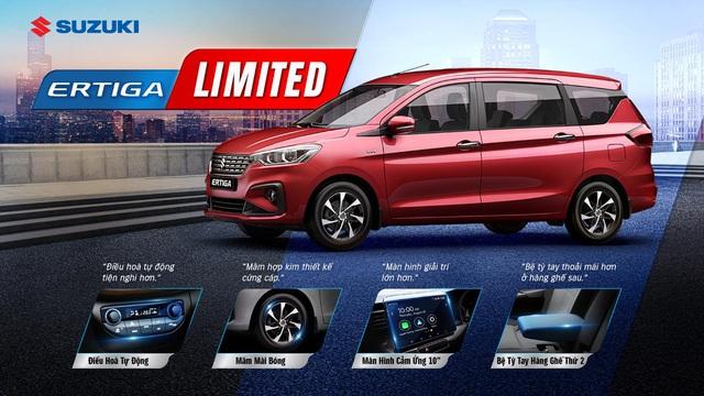 Suzuki ra mắt Ertiga Limited với nhiều option để hút khách Việt - Ảnh 1.