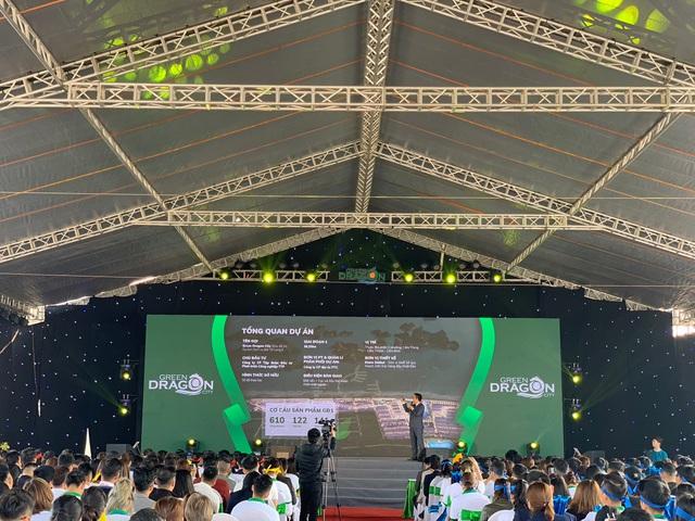 """Tưng bừng khí thế """"chiến binh Rồng xanh"""" cùng lễ kick-off dự án Green Dragon City - Ảnh 1."""