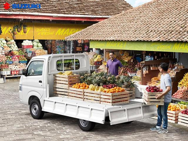 Xe tải nhẹ Suzuki Super Carry Pro thêm màu mới, giá không đổi - Ảnh 3.