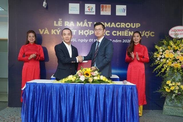 Komagroup ngay lập tức bắt tay 03 đối tác chiến lược trong ngày ra mắt thị trường Việt Nam - Ảnh 2.