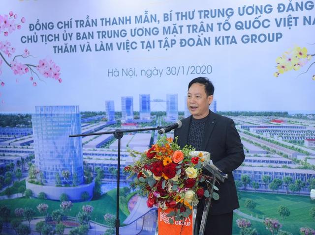 KITA Group đón Chủ tịch UBTƯ MTTQ Việt Nam đến thăm và làm việc đầu năm Canh Tý - Ảnh 1.