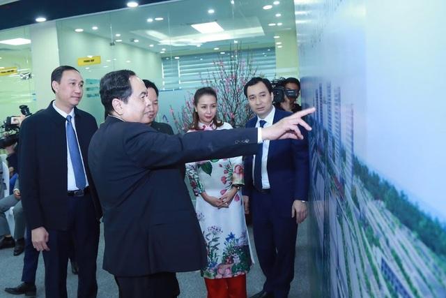 KITA Group đón Chủ tịch UBTƯ MTTQ Việt Nam đến thăm và làm việc đầu năm Canh Tý - Ảnh 2.