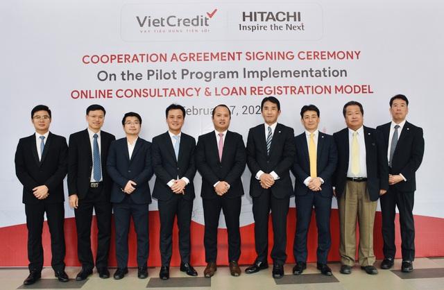 VietCredit và Hitachi hợp tác đưa công nghệ vào mô hình đăng ký vay tiêu dùng - Ảnh 1.