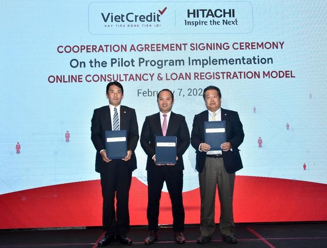 VietCredit và Hitachi hợp tác đưa công nghệ vào mô hình đăng ký vay tiêu dùng - Ảnh 2.