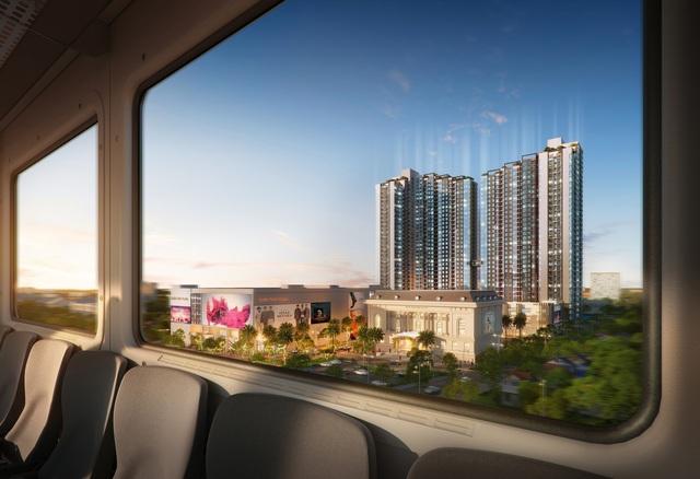 Vì sao bất động sản dọc tuyến Metro có giá trị đầu tư tăng nhanh? - Ảnh 2.