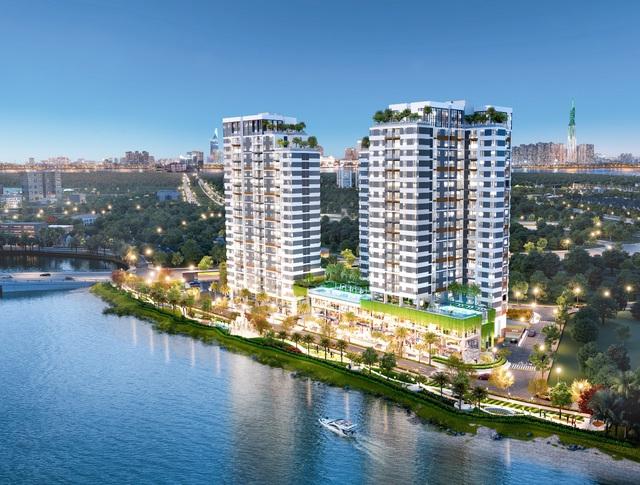 Tiện nghi chuẩn resort tại căn hộ cao cấp ven sông d'Lusso quận 2 - Ảnh 2.