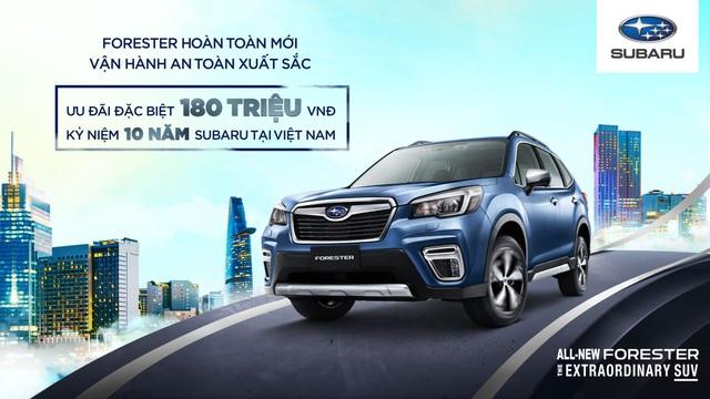 Vì sao khách hàng Việt Nam chọn Subaru Forester? - Ảnh 1.