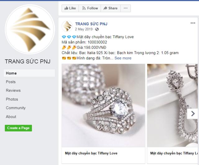 PNJ cảnh báo khách hàng các trang thông tin giả mạo - Ảnh 2.