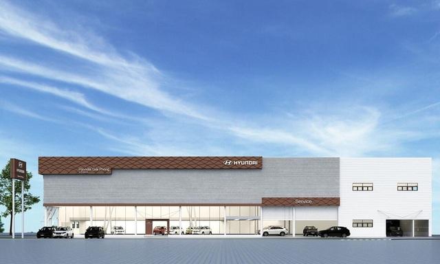 Hyundai Giải Phóng cơ sở Ngọc Hồi – Showroom Hyundai 3S tiêu chuẩn toàn cầu - Ảnh 1.