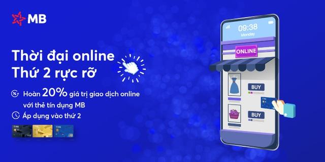 MB là ngân hàng đầu tiên tặng bảo hiểm Corona cho chủ thẻ tín dụng mới - Ảnh 1.
