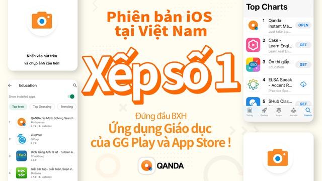 QANDA - app học tập Hàn Quốc đạt no.1 chart Giáo dục Việt Nam - Ảnh 1.