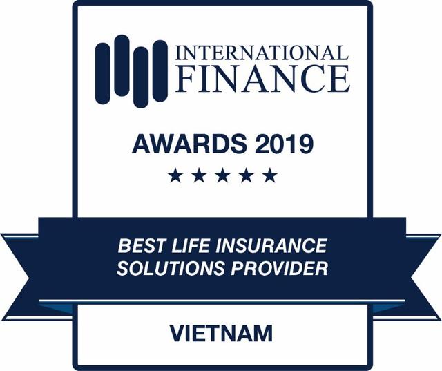 Sun Life Việt Nam nhận giải Công ty cung cấp giải pháp bảo hiểm nhân thọ uy tín 2019 - Ảnh 1.