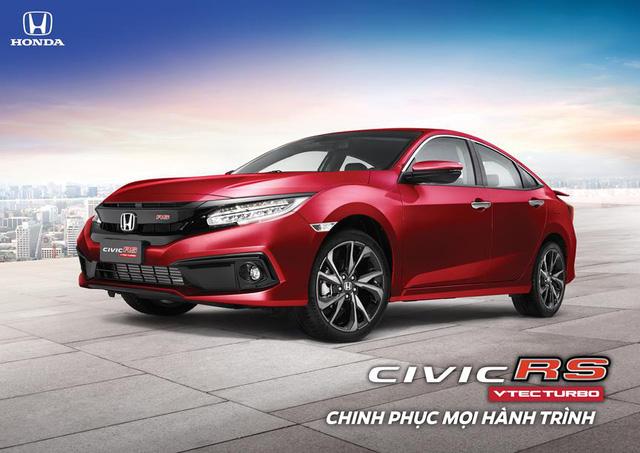 Honda Civic RS thêm màu mới tại Việt Nam - Ảnh 1.