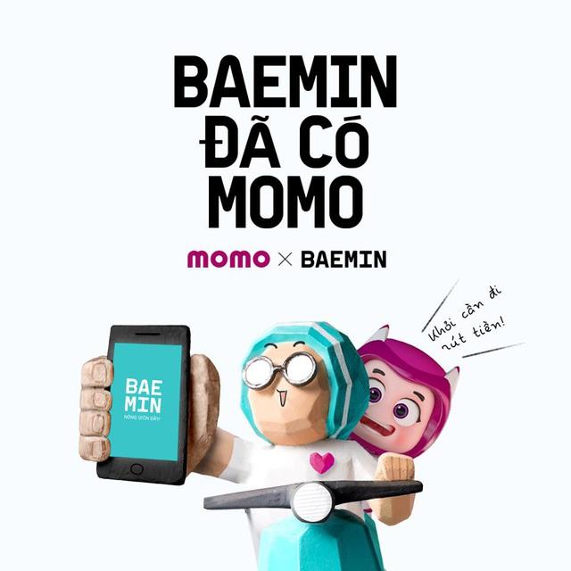 Cái bắt tay của 2 ông lớn BAEMIN và MoMo: Đáp ứng nhu cầu thanh toán tối ưu nhất cho ứng dụng giao đồ ăn - Ảnh 1.