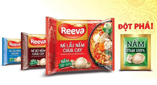 Mì Reeva - lựa chọn món ngon, bổ sung dinh dưỡng với nấm tươi cho cả nhà - Ảnh 2.
