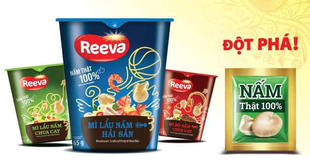 Mì Reeva - lựa chọn món ngon, bổ sung dinh dưỡng với nấm tươi cho cả nhà - Ảnh 3.
