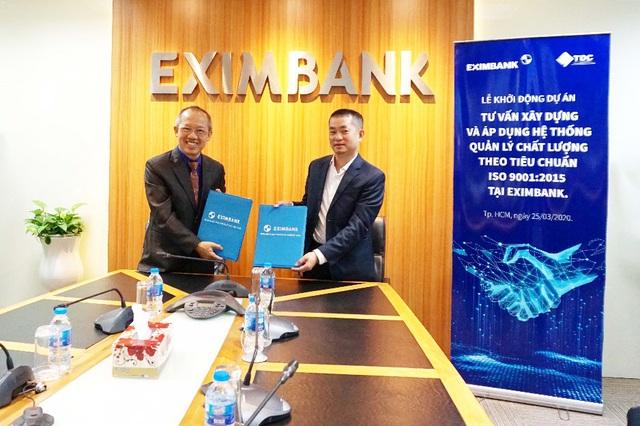 Eximbank khởi động dự án tư vấn xây dựng và áp dụng hệ thống quản lý chất lượng theo tiêu chuẩn ISO 9001:2015 - Ảnh 1.