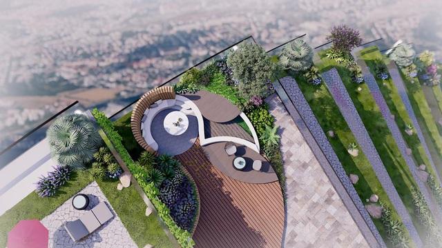 """""""Sống xanh, sống đẳng cấp"""" trong tòa tháp Babylon đặc biệt tại dự án 1,2 tỷ USD của Sunshine Group - Ảnh 2."""