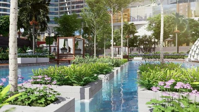 """""""Sống xanh, sống đẳng cấp"""" trong tòa tháp Babylon đặc biệt tại dự án 1,2 tỷ USD của Sunshine Group - Ảnh 4."""