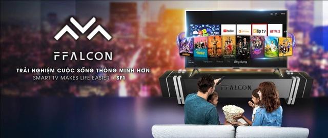 Thương hiệu TV thông minh FFalcon chính thức ra mắt tại Việt Nam - Ảnh 2.