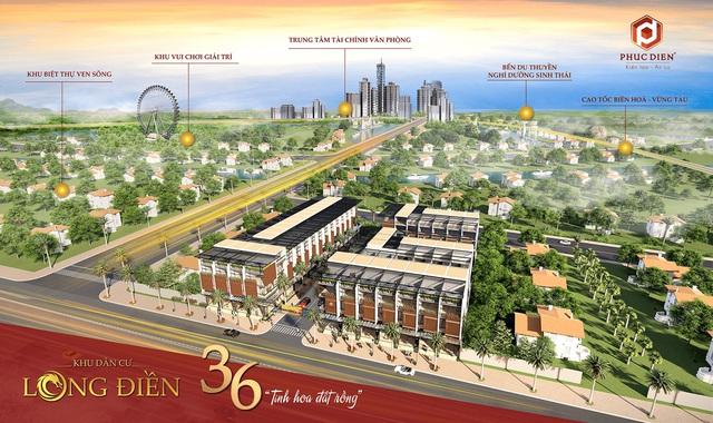 Cơ hội hấp dẫn tại Bà Rịa Vũng Tàu với khu dân cư Long Điền - Ảnh 1.