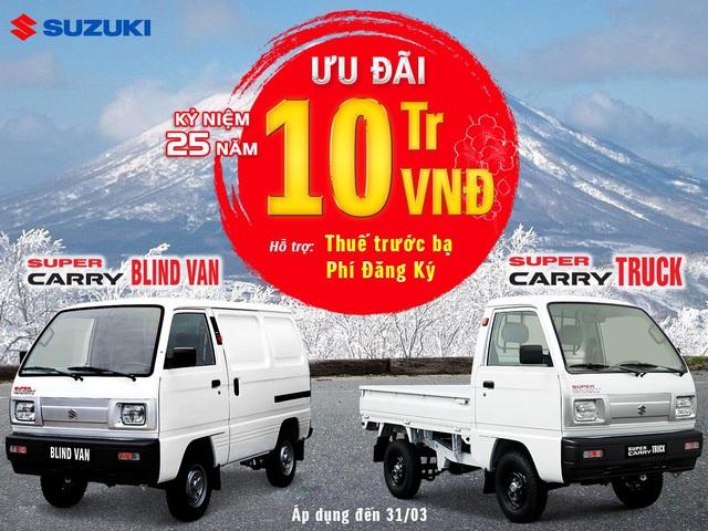 Suzuki Việt Nam ưu đãi hàng chục triệu đồng cho khách mua ô tô tháng 3 - Ảnh 3.