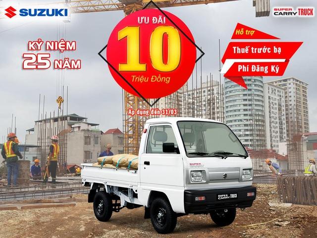 Suzuki Việt Nam ưu đãi hàng chục triệu đồng cho khách mua ô tô tháng 3 - Ảnh 4.