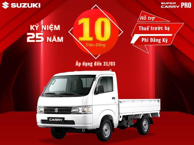 Suzuki Việt Nam ưu đãi hàng chục triệu đồng cho khách mua ô tô tháng 3 - Ảnh 6.