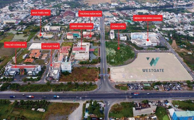 Cuộc sống an cư vượt trội trong trung tâm hành chính Tây Sài Gòn - Ảnh 1.  Cuộc sống an cư vượt trội trong trung tâm hành chính Tây Sài Gòn westgate vi tri flycam 158348400283898245098